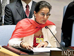 Kaur is part of a delegation of ministers and members of Parliament from visiting the UN to participate in various sessions.