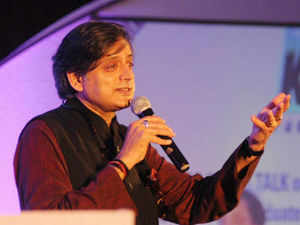 Tharoor pointed that it was the bitter reality that one out of every three MPs had a criminal case against him.