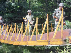 The RSS demanded that steps be taken to secure the 4057 km long India-Tibet border, which it claimed was the most 'neglected' one. (PTI)