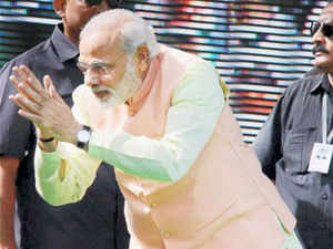 Modi, the BJP's PM candidate, said people dislike dynastic rule as much as the Congress is feeling offended over this.