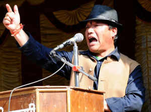 """""""When the Centre can accept the Telangana demand, why should we be told to let go of our statehood demand?"""" Bimal Gurung asked."""