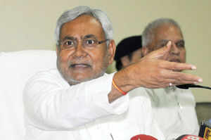 """""""The day and timing of the serial blasts indicate that there was an attempt to vitiate the atmosphere in the state. The timing is very worrying,"""" Nitish said."""