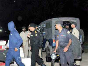 Jharkhand Police conducted raids in Dhurwa area of the city late on Sunday night and have reportedly detained two people in connection with the serial blasts in Patna