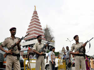 Security has been tightened along the Indo-Nepal border after a high alert was sounded in Uttar Pradesh following the serial blasts in Patna.