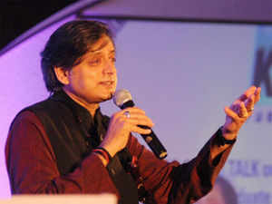 """With his tweet """"violence linked to BJP rally in Patna"""" inviting sharp criticism on Facebook and Twitter, Union Minister Shashi Tharoor has clarified that no political comment was intended by his condolence message."""