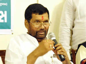 "LJP leader Ramvilas Paswan today asked Bihar Chief Minister Nitish Kumar to take moral responsibility for the serial blasts in Patna that claimed six lives and ""quit on his own""."