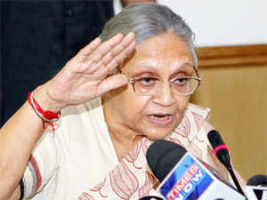 A cost of Rs 5,000 was today imposed by a court here on Delhi Chief Minister Sheila Dikshit for her non-appearance in a defamation case lodged by her against BJP leader Vijender Gupta.