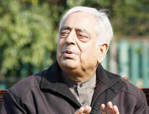 "Sayeed, however, praised the former NDA government led by Atal Bihari Vajpayee, saying it had supported the ""healing touch"" policy launched in 2003."