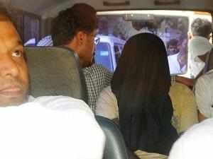 Usmani was arrested outside Rupaidiha railway station at around 3.30 am yesterday, Maharashtra ATS Chief Rakesh Maria said.