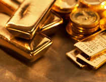Standard gold of 99.5 per cent purity moved-down by Rs 70 to end at Rs 31,945 per 10 grams from last Saturday's closing level of Rs 32,015.