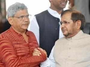 """""""We are not engaged in alliance making process either with Congress or for the formation of Third Front,"""" JD(U) president Sharad Yadav said."""