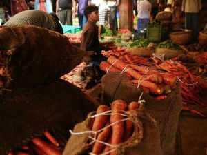 Wholesale vegetable prices in September this year increased by a whopping 89.37 per cent as compared to last year, an industry body said.