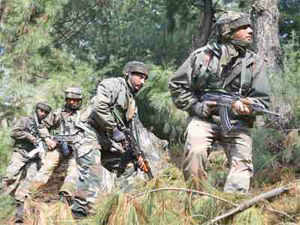 The Pakistani Rangers opened small arms fire on the outpost in Katav area in Rajpora-Kagwal forward belt along the International Border this afternoon, a police officer said.