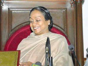 """The controversial report of the JPC, which gave a clean chit to Prime Minister Manmohan Singh in the 2G spectrum scam saying he was """"misled"""" by the then Telecom Minister A Raja, was today submitted to Lok Sabha Speaker Meira Kumar."""