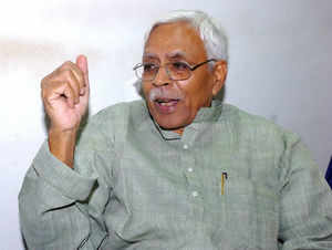 Shivanand Tiwari today created flutters by praising Narendra Modi at the JD(U) convention here, triggering spontaneous protests from the party workers.