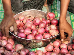 """The cheaper onions, offered at Rs 50/kg, failed to attract residents in many areas who said the vegetable being sold through mobile vans """"looked rotten""""."""