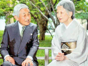 DOWN MEMORY LANE The Japanese royal couple is visiting India after five decades