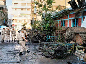 The blast spot is about 1 Km south of the official CM residence and Manipur police headquarters which is adjacent to the CM's office-cum-residence, sources said.