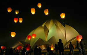 """Although sky lanterns are being claimed by marketers as an """"eco-friendly"""" alternative to crackers and fireworks this Diwali, experts say it not only poses grave risk to the environment but can also lead to fire."""