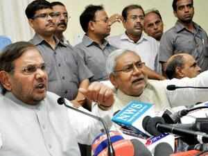 JD(U) president Sharad Yadav also targeted Modi claiming that corporate sector was spending a lot of money on him.