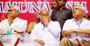 """BJP on Wednesday targeted Bihar chief minister Nitish Kumar for attending a Third Front meeting here, saying such an alliance is """"illusory""""."""