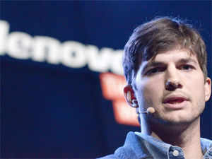 """Lenovo has hired tech-savvy actor Ashton Kutcher to help design and pitch its latest line of tablets, dubbing the Hollywood star a """"product engineer"""""""