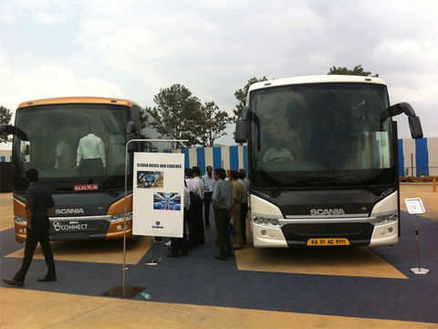 12 dealerships across India - Scania's first manufacturing