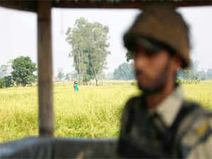 Pakistani troops fired on forward Indian posts along the LoC in Jammu district overnight, drawing retaliation from Indian forces.