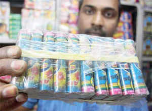 Anti-crackers campaign launched by school authorities across metros and other large cities has led to a fall of 20 to 25 per cent in its sales this Diwali, according to an Assocham survey.