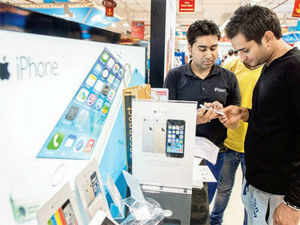 Airtel and Reliance Communications, began selling the hugely popular smartphones in the country through bundled offers on November 1 and 2, respectively.