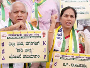Yeddyurappa is on the fifth day of his day-night dharna, demanding extending the dole to all communities.