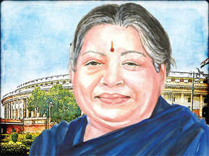 The likelihood of having the most number of MPs in regional parties, and of winning the last lap is with the Tamil Nadu chief minister J Jayalalithaa.