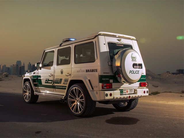 Monoblock Forged Wheels Dubai Police Adds The Brabus