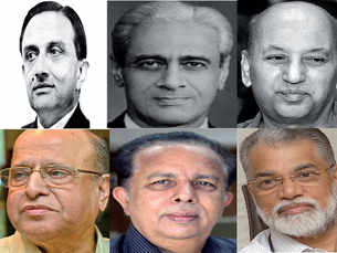 Different ISRO Chairman over the years