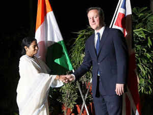 British Prime Minister David Cameron today said the proposed Free Trade Agreement (FTA) between India and the UK needs to progress.