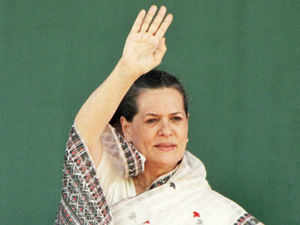"""In a veiled attack on Modi, Sonia Gandhi said, """"If they think they can win hearts of people only through big speeches, then they are wrong."""""""