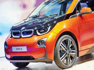 "For BMW to continue to sell cars that live up to the company's ""ultimate driving machine"" claim, the manufacturer needed to offset those emissions with a viable electric vehicle for growing cities, where more and more potential customers would live. (Image: BMW i3)"