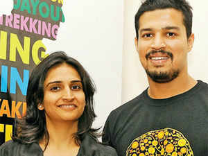 The Bangalore-based couple has made a success of the online travel site that focuses on adventure trips.