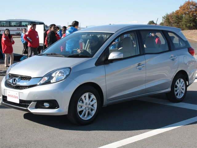 Targets Ertiga Honda Mobilio To Be Seen At Auto Expo 2014 The
