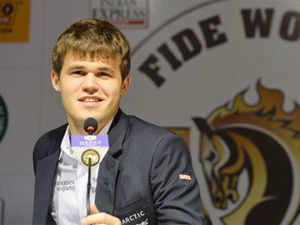 Magnus Carlsen spoke about his opponent Anand, his experience in India and much more…