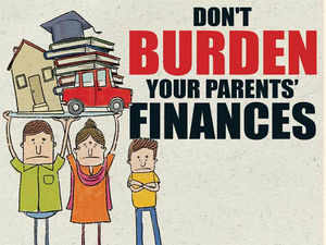 Young people lean too much on their parents for financial support. Here's how you can ease their burden in times of rising expenses and uncertain returns.
