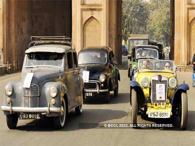 Vintage Car Rally In Lucknow December The Economic Times