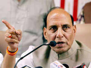 Rajnath Singh accused the UPA government of being casual in its approach towards Beijing