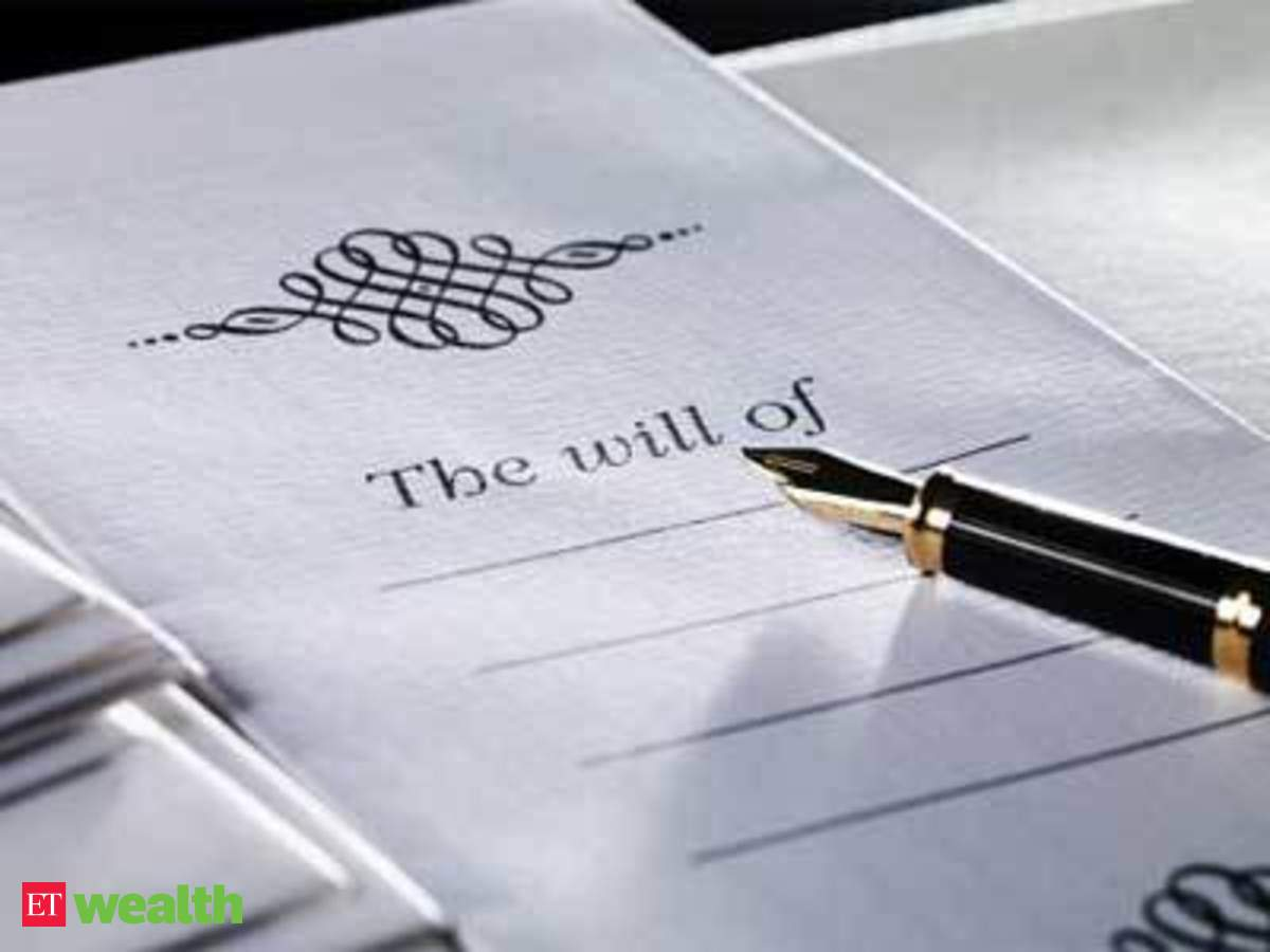 Points to keep in mind while writing your will - The Economic Times