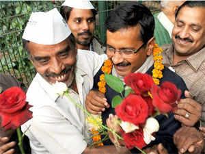 """Our slogan is, 'AAP ka ye sandesh, aaj Dilli, kal pura desh',"" AAP functionary Mayank Gandhi said."
