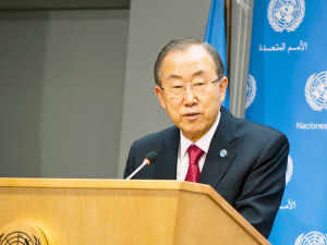 UN chief Ban Ki-moon has stressed on the need for equality and opposed any discrimination against lesbians, gays and bisexuals.