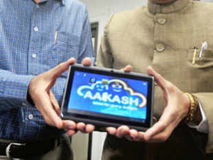 A commercial version of India's low-cost Aakash 2 tablet computer was today launched in Britain at a cost of 30 pounds. (BCCL)