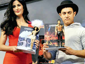 This is the first big attempt by Bollywood - whose size as an industry is estimated at Rs 12,240 crore for 2013 - to pry open a new revenue stream in the merchandise category
