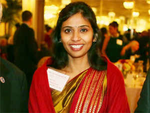 It is expected that Khobragade will be able to get full diplomatic immunity once her transfer to India's Permanent Mission at the United Nations is complete. (Pic by AP)