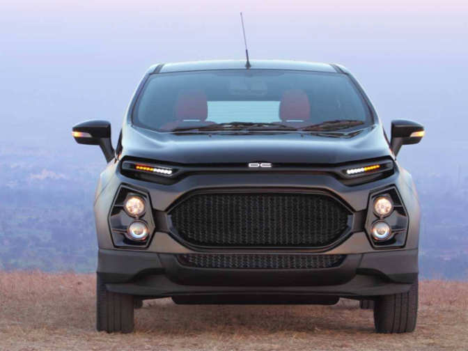 Dc Customized Ford Ecosport Revealed Dc Customized Ford
